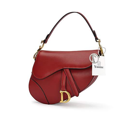 A Borse Clutch Vera Handle Sella Borsa Pelle Fashion Donna Top In Burgundy Borsetta Crossbody Yoome Tracolla xTFwYOqYP