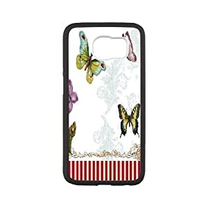 Beautiful Butterfly Image On Back Phone Case For Samsung Galaxy S6