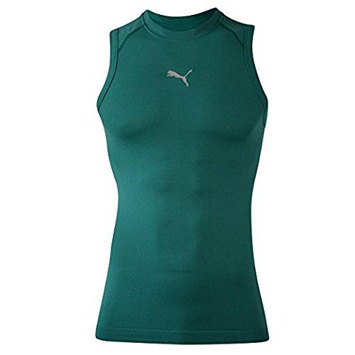 Puma Men's Bodywear Training/Fitness Sleeveless Tank Shirt,Team
