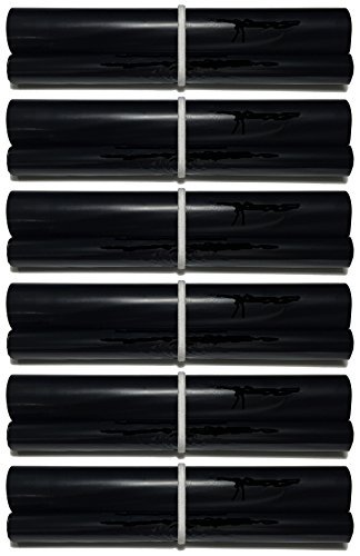 - 6-pack of PC-502RF Fax Film Ribbon Refill Rolls Compatible with Brother Fax 575