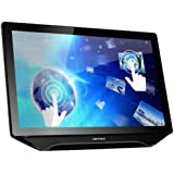 "Hanns.G HT231HPB - Monitor de 23"" con tecnología LED (USB, 3 W, 3.5 mm), color negro"
