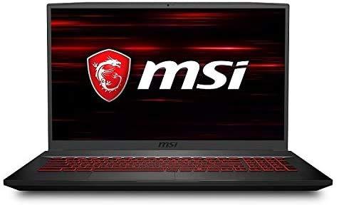 "2020 MSI GF75 Thin Gaming Laptop: 10th Gen Core i5-10300H, 512GB SSD, 17.3"" Full HD 120Hz Display, NVIDIA GTX 1650, 8GB RAM"