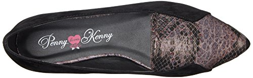 Penny Loves Kenny Womens Abigail lll Ballet Flat Black/Taupe EK9CD