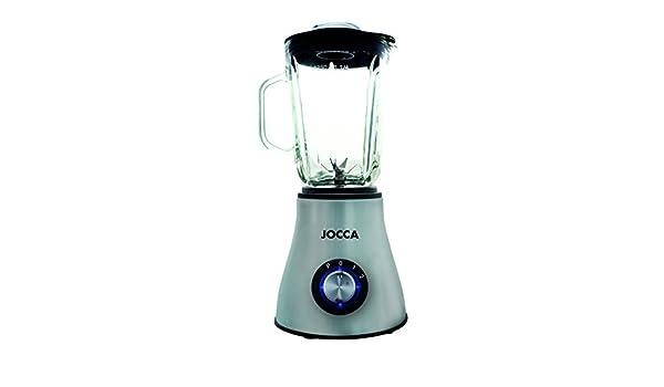 Batidora de vaso de cristal/Capacidad de 1.5 litros/ 3 velocidades y cuchillas de acero inoxidable: Amazon.es: Hogar
