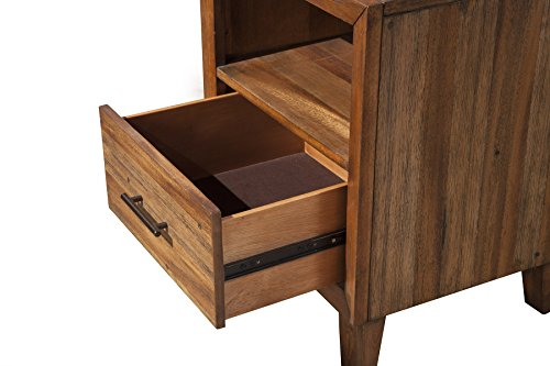 Origins by Alpine 2500-02 Trinidad Nighstand, Toffee
