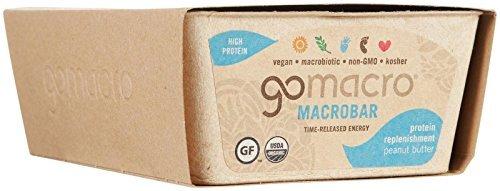 GO MACRO Peanut Butter - 2.3 oz - 12 Pack