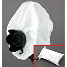 "Camera Rain Cover + Storage Pouch for cameras with lens combinations up to 13"""" long. For use with Rangefinder SLR Cameras including: Leica M1 M2 M3 M4-2 M5 M6 TTL M7 MP M8 ---&--- Contax G1 G2"