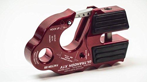 Factor 55 UltraHook XTV - UltraHook for UTV/ATV (Red)