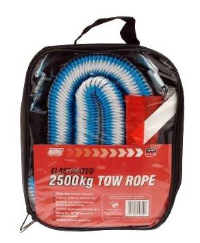 massima di traino 2500/kg Carpoint corda traino stretch