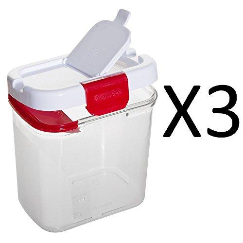 1 Lb Clear Powdered Sugar Keeper - Progressive DKS-300