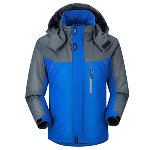 Autunno Laminato Sci Caldo Hhord Il Giù Uomo Cotone Addensato Hoodiewaterproof Traspirante Invernale Da Alpinismo Da E Xxl Giacca CwB877
