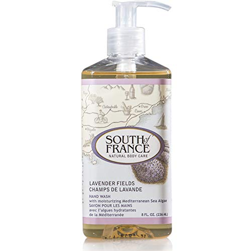 Field Natural - Lavender Fields - South of France Natural Body Care 8oz Hand Wash (3 Bottles)