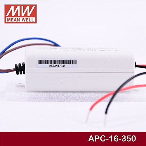 LED Driver 16.8W 48V 350mA APC-16-350 Meanwell AC-DC Switching Power Supply APC-16 Series MEAN WELL C.C Power Supply