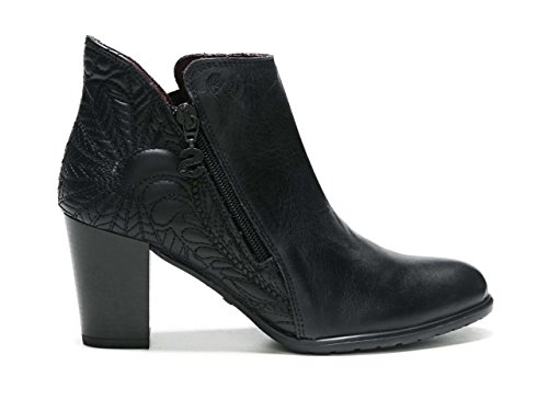 Desigual Women's Shoes_Frida Lottie Chelsea Boots 2000 Negro vJZrpR3