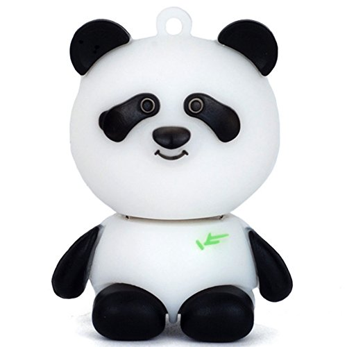 Aneew 16GB Pendrive Cartoon Animal Panda USB Flash Drive Memory Thumb Stick