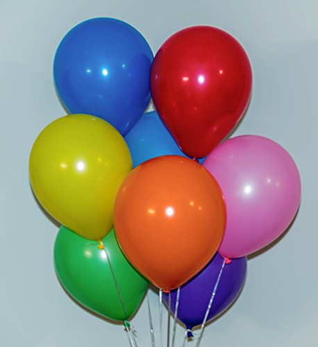 12'latex balloons (100 count), Assorted