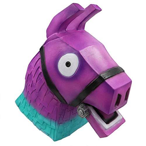 Premium Llama Pinata Head Mask - Cosplay or Halloween Costume (Adult Party -