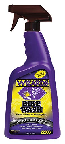 Wizards Motorcylce Cleaner Kits (Bike Wash 22 oz.)