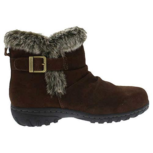 KHOMBU Women's All-Weather Lindsey Suede Boots (8, ()
