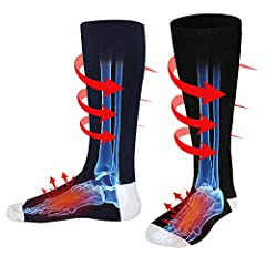 3.7V Heated Socks Voltage:3.7V Material:Cotton Polyester Spandex Heated Area:Front Instep Package Included: 1*pair of socks 1*AC charger 2*Li-ion Batteries 1*Using Manual 3 Levels Temperature Setting: Red Light:100% Heat Orange Light:75% Heat...