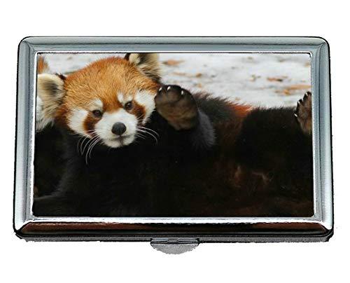 Estinzione Panda Rigida Custodia Portasigarette Per acciaio Scatola In Di Visita Animali Case11 Da Via Inossidabile Biglietti Con zqxxOwF