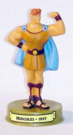 2002 Mcdonalds 100 Years of Disney Hercules Figure Happy Meal Toy