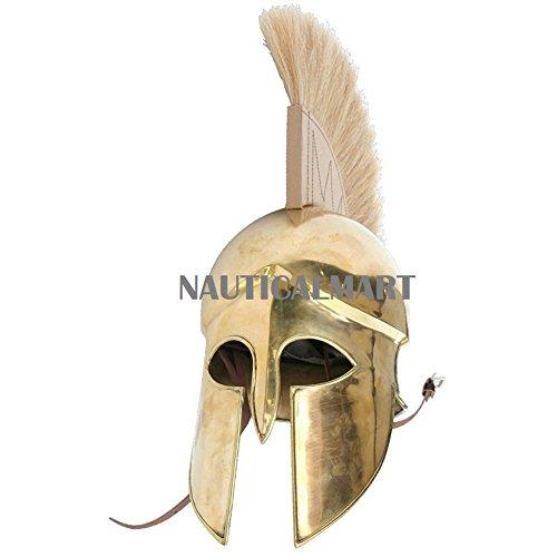 NAUTICALMART Spartan Grecian Historical Brass Armor -