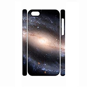 TYHde Retro Personalized Custom Dustproof Galaxy Pattern Phone Case for Iphone 4/4s Case ending