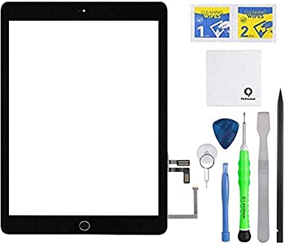 Cellular Black Digitizer Touch Screen Panel Replacement For iPAD 5 A1823 Wi-Fi
