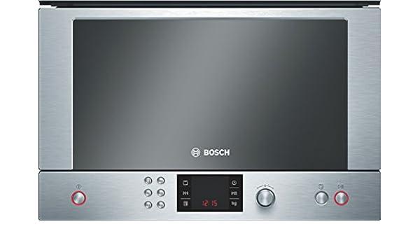 Bosch HMT85GL53B, Acero inoxidable, LED - Microondas: Amazon ...