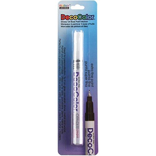 Uchida 130-C-0 Marvy Deco Color Extra Fine Opaque paint Marker, - Decocolor Pens