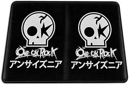 One Ok Rock ワンオーケーロック パスポートケース メンズ レディース パスポートカバー パスポートバッグ 携帯便利 シンプル ポーチ 5.5インチ PUレザー スキミング防止 安全な海外旅行用 小型 軽便