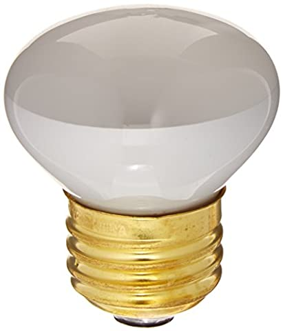 25 Watt - R14 Short Neck - Reflector Flood - 120 Volt - Medium/Standard Base - Incandescent Light Bulb - (25 Watt Type A Light Bulb)