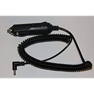 6ft Coiled Power Cord for Whistler Radar Detectors