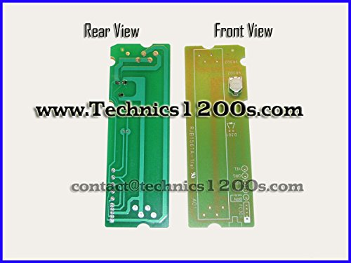 Technics 1200 / 1210 Mk2 Mk3 M3d Mk4 Mk5 Mk6 Pitch Control Printed Circuit Board PCB with Potentiometer