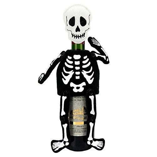 Celebrate Halloween Together Skeleton Wine Bottle -