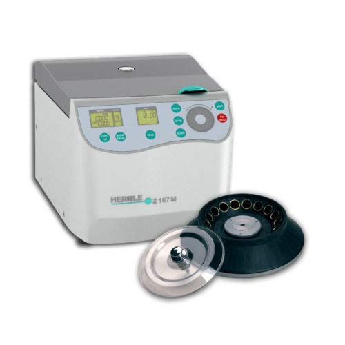 Hermle Z167-M Benchtop High-Speed Micro Centrifuge with 18 x 1.5mL Place Tube Rotor by Benchmark