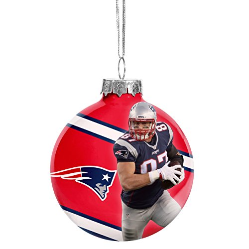 New England Patriots Christmas Ornament - 4