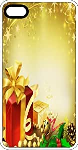 Christmas Time Gifts White Rubber Case for Apple iPhone 6 Plus