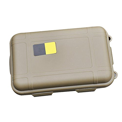 Labu Store 3Pcs Outdoor Waterproof Airtight Survival Storage Case Outdoor Tools Box Portable Carry Case 2 Color for Choose