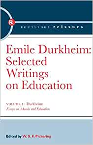 Durkheim On Education And Morality