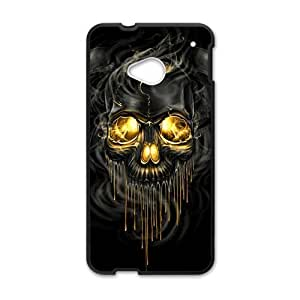 Shiny melting skull Cell Phone Case for HTC One M7