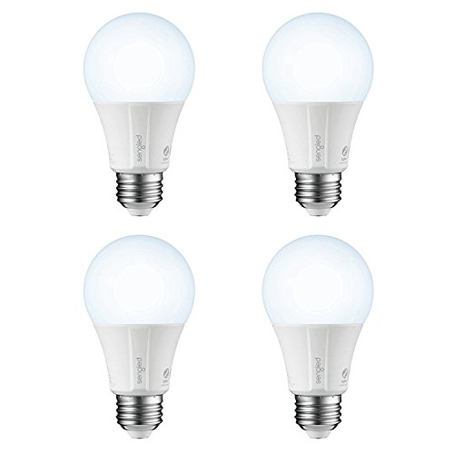Sengled Smart LED Daylight A19 Bulb, Hub Required, 5000K 60W Equivalent, Works with Alexa, Google Assistant & SmartThings, 4 Pack by Sengled (Image #1)