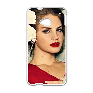 Fantastic red sexy woman Cell Phone Case for HTC One M7