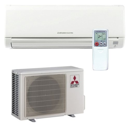 M Series Straight Cool Wall Mounted Mini Split AC by Mitsubishi