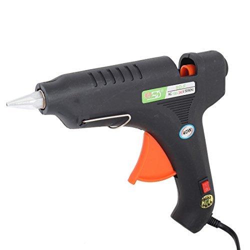 eDealMax 1.24m 4FT cavo 40W Riscaldamento Melt Glue Gun trigger spina USA AC100-240V