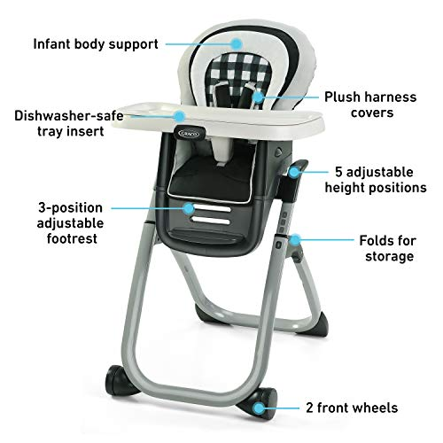 41zTSN9pwAL - Graco DuoDiner DLX 6 In 1 High Chair | Converts To Dining Booster Seat, Youth Stool, And More, Kagen