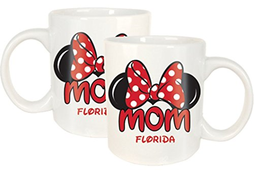Disney Minnie Mom Fan Jumbo 20oz Mug White Florida