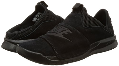Nike BENASSI SLP Mens fashion-sneakers 882410-003_9.5 - BLACK/BLACK-BLACK by NIKE (Image #5)