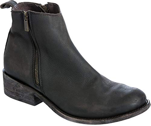 LIBERTY BLACK Men's Distressed Leather Ankle Boots ()